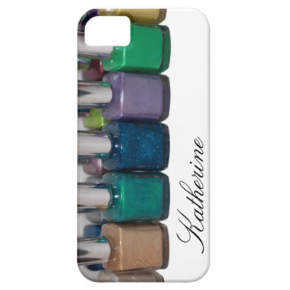Customizable Nail Polish iPhone 5 Cases