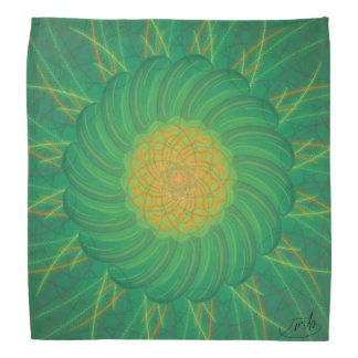 Customizable Nature (Psychedelic spirograph) Bandana