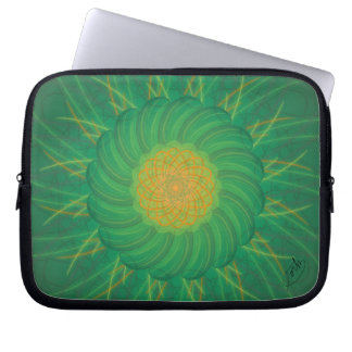 Customizable Nature (Psychedelic spirograph) Laptop Sleeve
