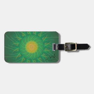 Customizable Nature (Psychedelic spirograph) Luggage Tag
