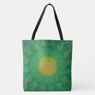 Customizable Nature (Psychedelic spirograph) Tote Bag
