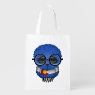 Customizable Nerdy Colorado Baby Owl Chic