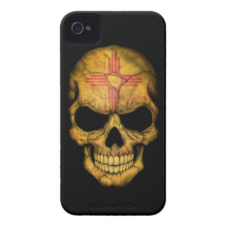 Customizable New Mexico Flag Skull Case-Mate iPhone 4 Case