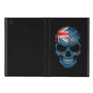 Customizable New Zealand Flag Skull iPad Mini Cover