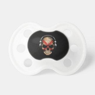 Customizable Northern Ireland Dj Skull BooginHead Pacifier