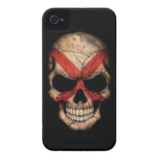 Customizable Northern Ireland Flag Skull iPhone 4 Case