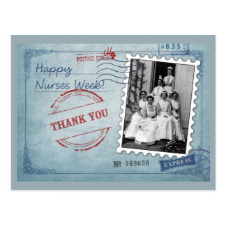 Customizable Nurses Week Postcards