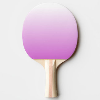 Customizable Orchid Ombre Ping Pong Paddle
