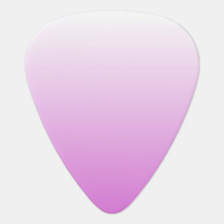 Customizable Orchid Ombre Plectrum