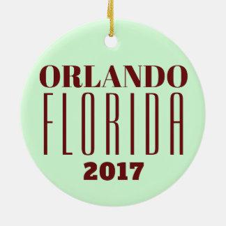 Customizable Orlando, Florida Ornament