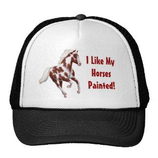Customizable Overo Paint Horse Hat