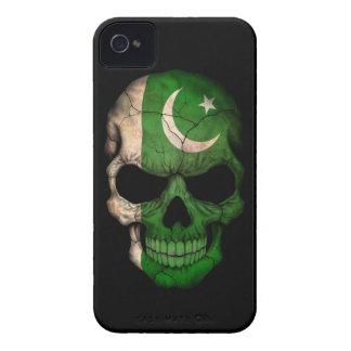 Customizable Pakistani Flag Skull iPhone 4 Covers