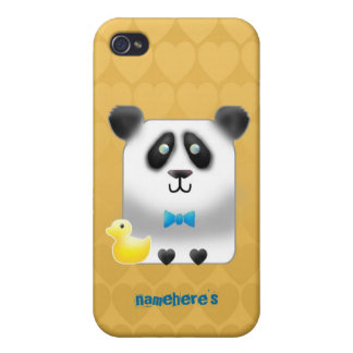 Customizable: Pandy iPhone 4 Cover