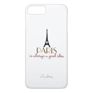 Customizable Paris is Always a Good Idea iPhone 7 Plus Case