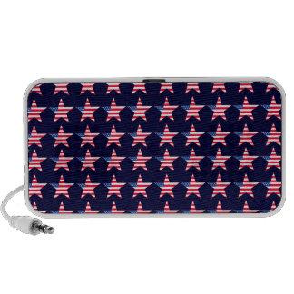 Customizable Patriotic US Flag Stars Mp3 Speaker