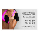 CUSTOMIZABLE Personal Trainer Business Card