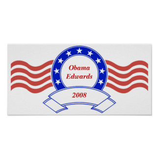 Customizable Personalized Poltical Banner Poster
