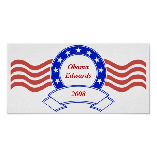 Customizable Personalized Poltical Banner Posters