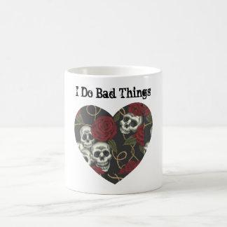 Customizable Personalized Skull Heart Mug