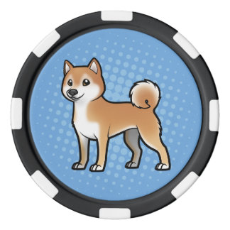 Customizable Pet Poker Chip Set