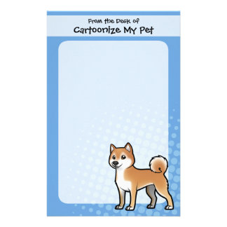 Customizable Pet Customised Stationery