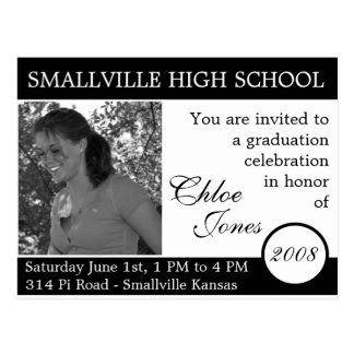 Customizable Photo/Colors Graduation Card Updated Postcard