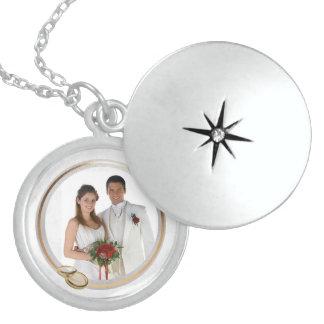 Customizable Photo Keepsake Wedding Locket