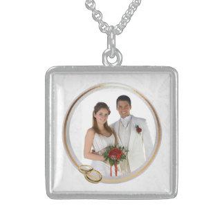 Customizable Photo Keepsake Wedding Necklace