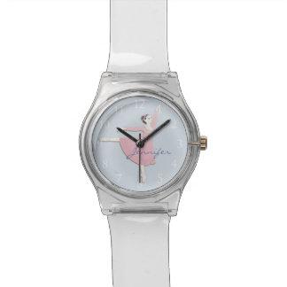 Customizable Pink Ballerina May28th Watch