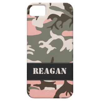 Customizable Pink Camo iPhone 5 Case