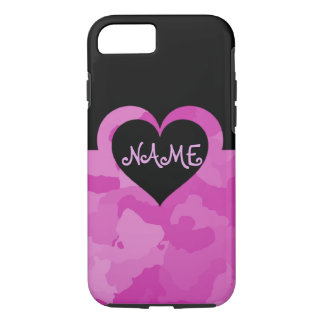 Customizable Pink Camo iPhone 8/7 Case