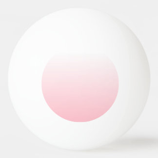 Customizable Pink Ombre Ping Pong Ball