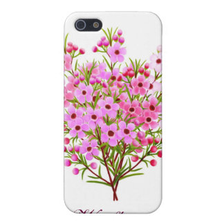 Customizable Pink Waxflower Bouquet Speck Case iPhone 5/5S Cases