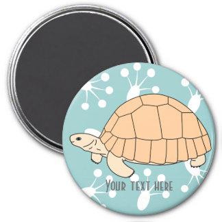 Customizable Ploughshare Tortoise Magnet 2