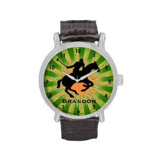 Customizable Polo Design Watch