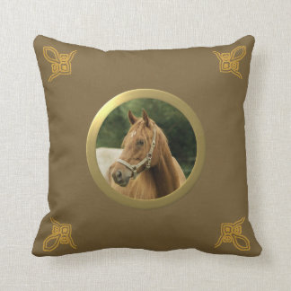 Customizable Pony, Horse or Other Pet Memory Photo Cushion