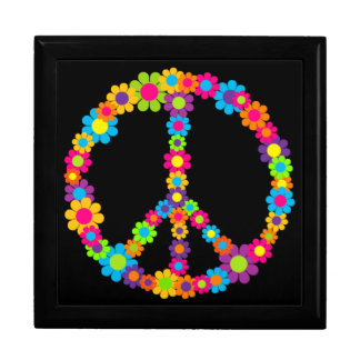 Customizable Pop Flower Power Peace Gift Box