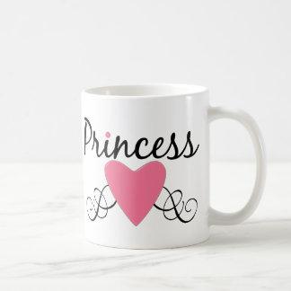 CUSTOMIZABLE Princess Heart Coffee Mug