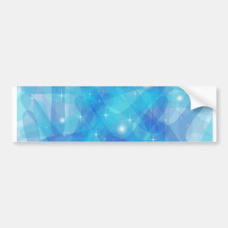 Customizable product with blue abstract background bumper sticker