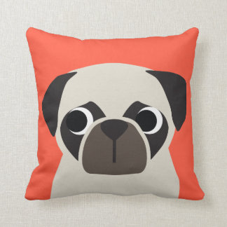 Customizable PUG Pillow