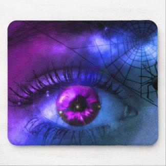 Customizable Purple Halloween Nightmare Mouse Mat