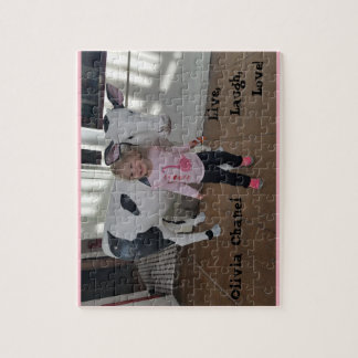 Customizable Puzzle, substitute your pic & text Jigsaw Puzzle