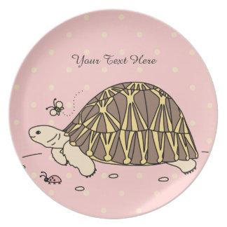Customizable Radiated Tortoise Plate