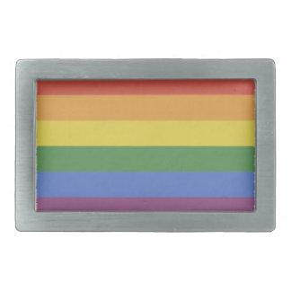 Customizable Rainbow Buckle Rectangular Belt Buckle