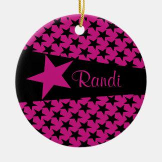 Customizable Randi Ornament