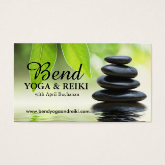 Customizable Reiki Business Cards