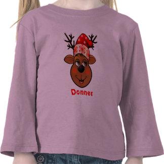 Customizable Reindeer Tee Shirt