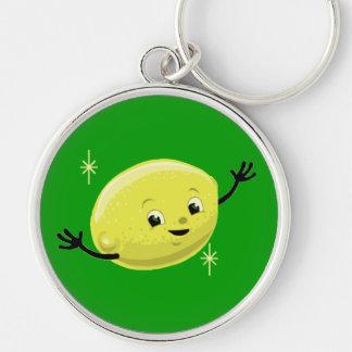 Customizable Retro Lemon Guy Key Chain