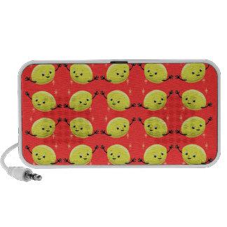 Customizable Retro Lemon Guys PC Speakers