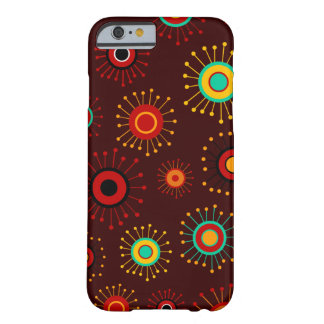 Customizable Retro Mod Starburst Barely There iPhone 6 Case